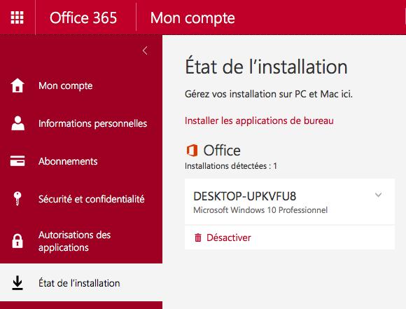 Cnam assistance num rique webconf rence avec office 365 - Transferer office 2010 sur un autre pc ...